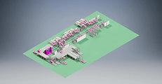 자동화 컨베이어 물류 라인-BOX,PALLET 운송 ( Conveyor line)
