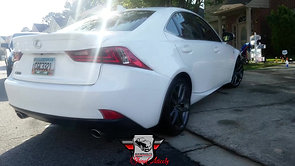 Lexus is250 f sport stage 2