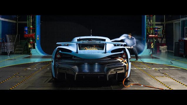 Rimac Automobili Windtunnel Testing