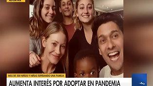Marcela y Rafa, M. Jesús y Ernesto, adoptaron durante la pandemia