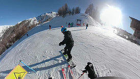 Snow in Sauze   Skiing Edit