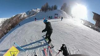 Snow in Sauze | Skiing Edit