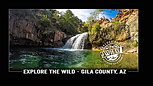 Nature Series: Strawberry, Arizona (Fossil Creek) Waterfall and Cliff Jumping with my GoPro