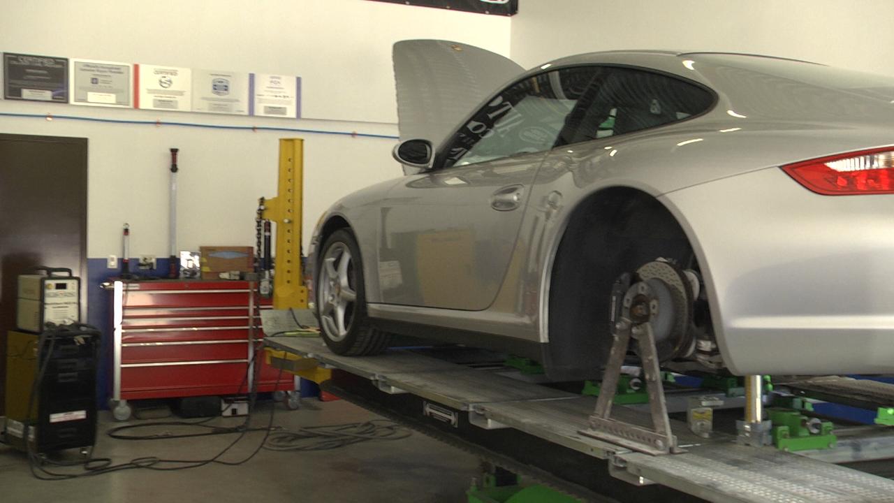 Certified Aluminum Collision Repair