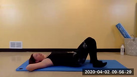 4.1.20 LIVESTREAM Pilates Mat with Mindy