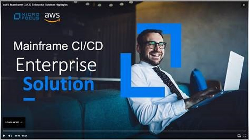 AWS Mainframe CI/CD Enterprise Solution