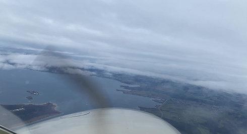Chiemsee unter den Wolken