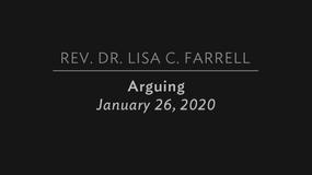 Arguing   Jan 26, 2020