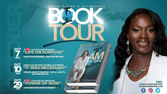 October 2020 : Book Tour Announcement