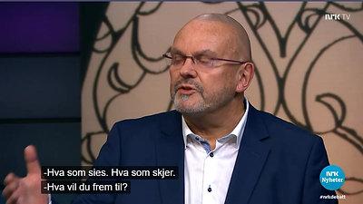Fra NRK 1 om islam og ytringsfrihet