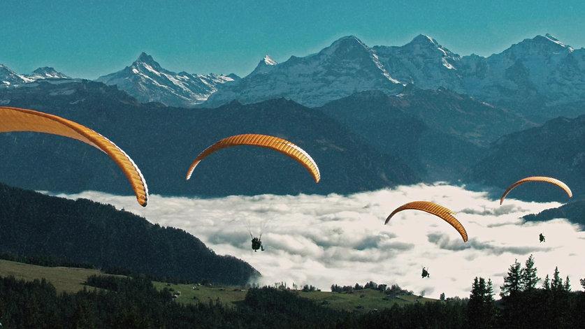 fly-twin.com Interlaken Paragliding Passagierflug in der Schweiz