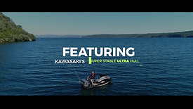 Kawasaki NZ JetSki Ultra LX-F Fishing Ski Promotional Video