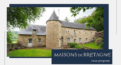 Demeure de charme à proximité de Pont-Scorff | Morbihan | Bretagne sud | Maisons de Bretagne
