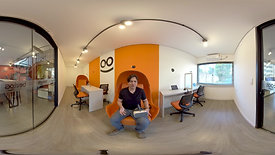 (Video 360) Demonstração de aula em Realidade Virtual