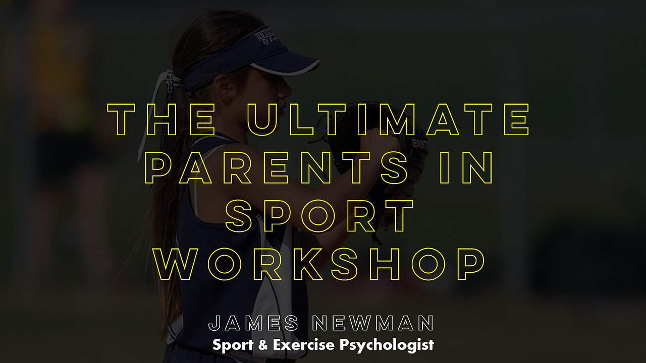 The Ultimate Parents in Sport E-Learning Workshop