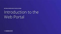 Introduction to the EVA portal