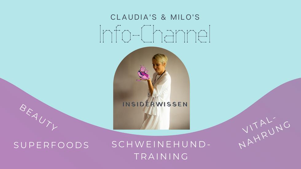 Claudia's & Milo's Infochannel