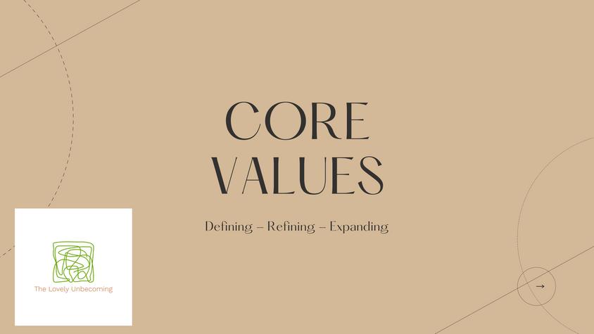 Core Values Workshop