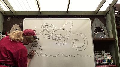 20,000 Leagues Under The Sea Drawing Adventure