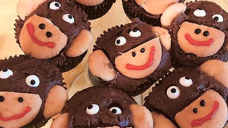 Monkey Cupcake Preview