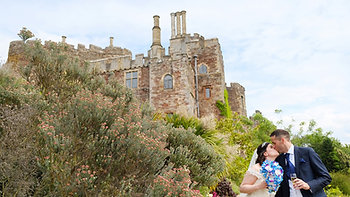 STEVEN AND CLAIRE AT BERKELEY CASTLE, GLOUCESTERSHIRE