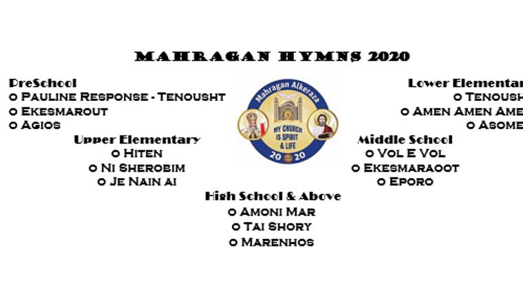Mahragan 2020 Hymns