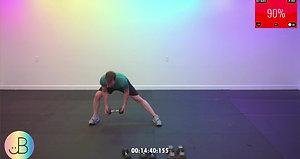Sweat 94:  JB all - over
