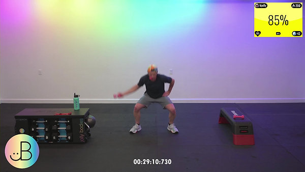 Sweat 164: JB Upper Body & Core Combo