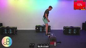 Sweat 300: JB Lower Body (Hamstrings) & 12 Min Glute Mini