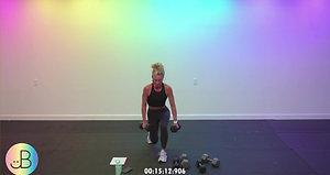 Sweat 86:  JB lower (hamstrings/inner thighs)