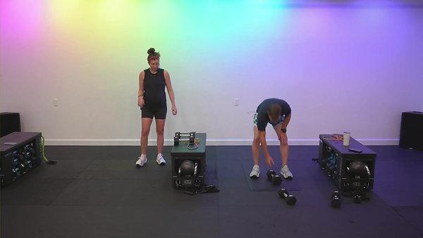 Sweat 273: JB lower body (quads/glutes)