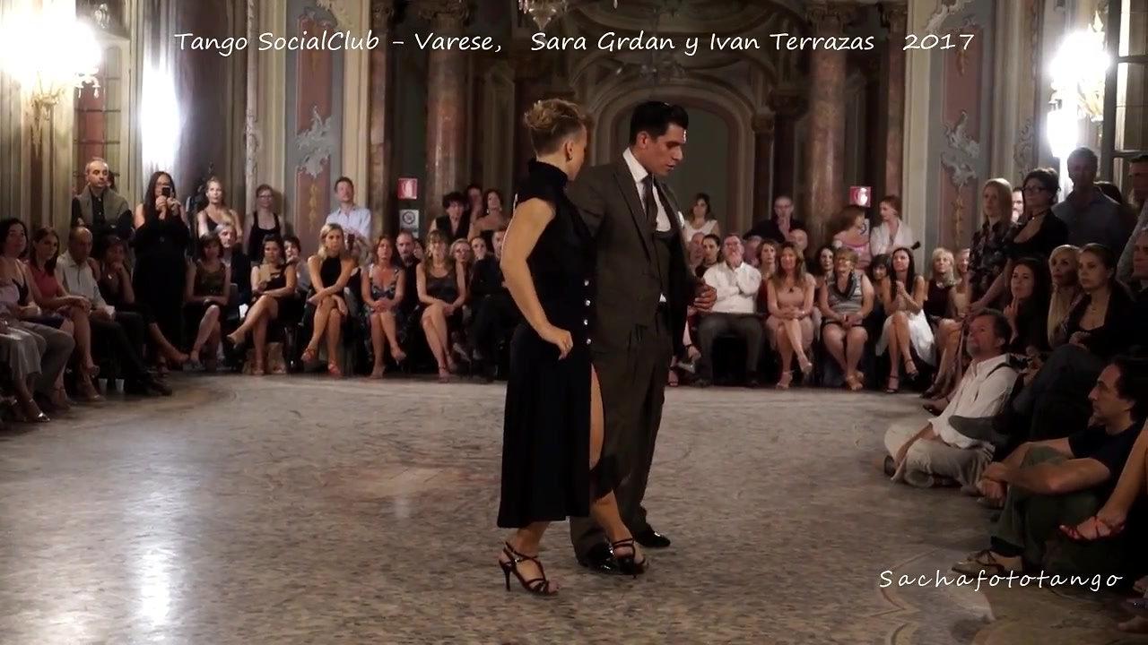 Sara Grdan y Ivan Terrazas