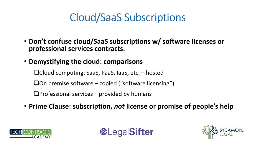 Top 5 Mistakes Lawyers Make in Cloud Computing Agreements