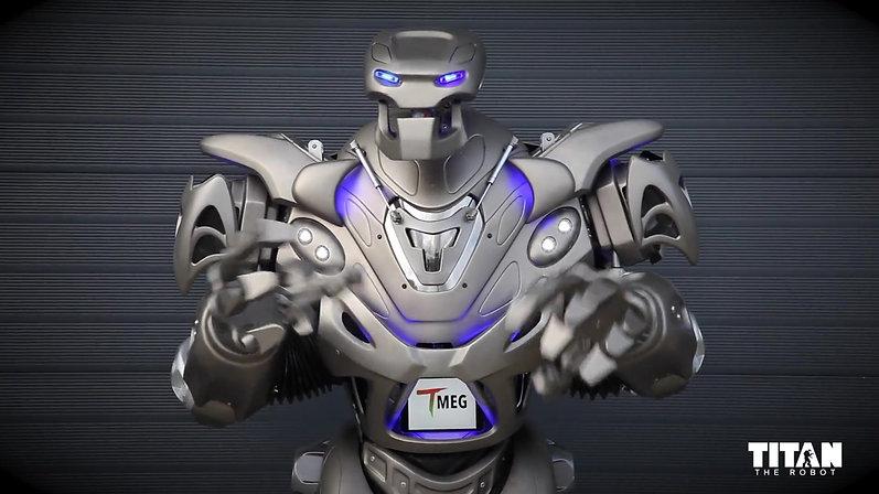 TITAN the Robot x TMEG Promo