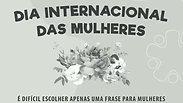 COLÉGIO GRAFITINHO - DIA DAS MULHERES