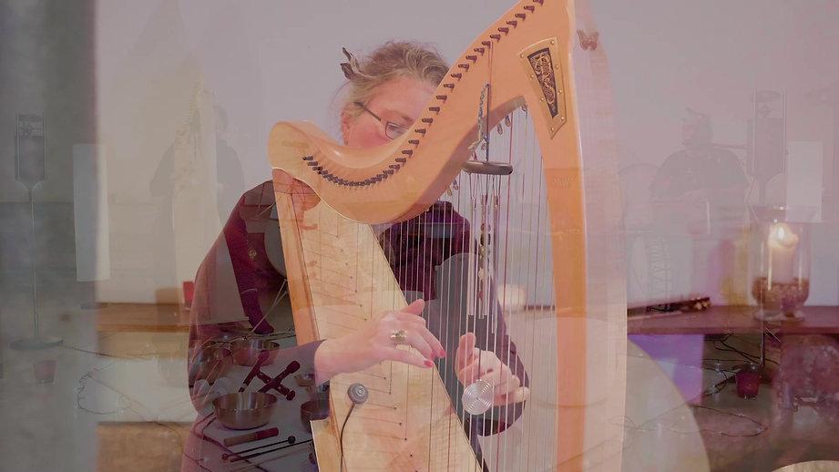 """Concert """"Harpèges Méditatifs"""" du Duo UNISSONS"""