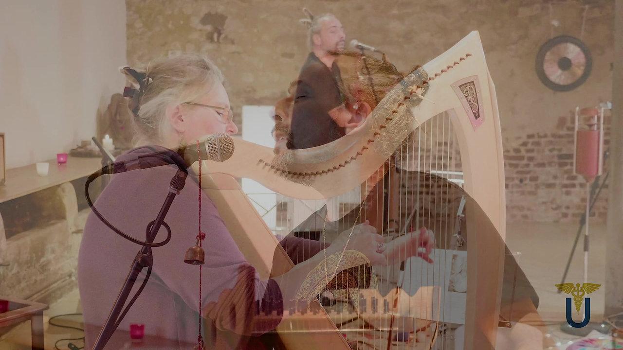 """Teaser du concert """"Harpèges Méditatifs"""" par le Duo UNISSONS"""