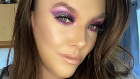 Purple Smokes using MMMMitchell Palette and Peaches&Cream Pigment