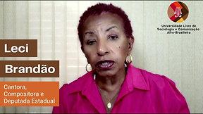 A Deputada Leci Brandão recomenda a UNAFRO