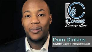 Meet Dom Dinkins ~ ISDA Ambassador at Bubba Mac's