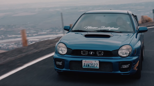 Subaru WRX Sti Cinematic Car Edit