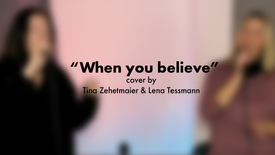 When you believe - Cover