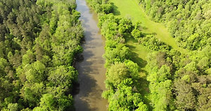 River frontage 20 acre tract