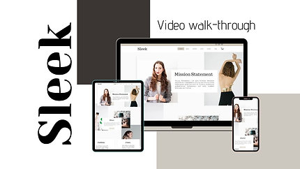 Video walk through - Sleek