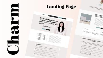 Video walk through - Landing Page