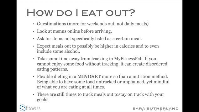 Eat Out and Stay on Track