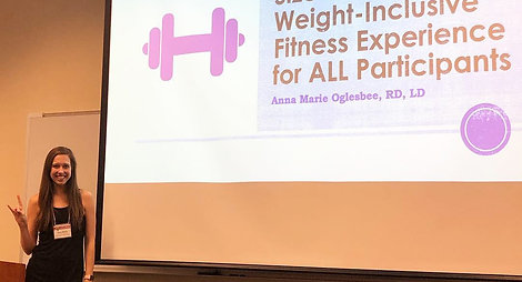 Anna Marie Oglesbee Health at Every Size for Fitness Professionals