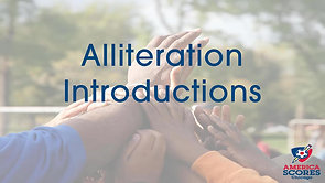 Alliteration Introductions