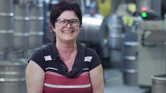 Hélène Gagné, 49 ans, soudeuse chez Technologie Inovaweld