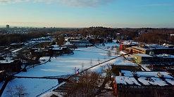 Winter Sunrise at University of Hartford